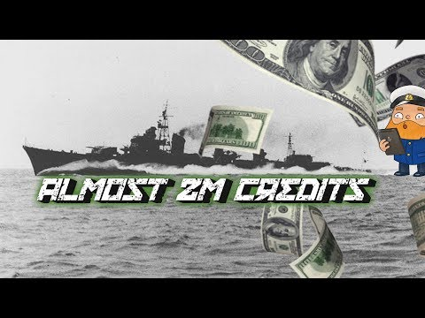 Trolling title: Best credit ship Shimakaze =) ? World of Warships