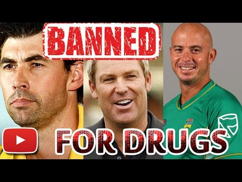 Drug Charges: Top 10 Cricketers Who Have Been BANNED For Drug Use | Cricket Fan Club