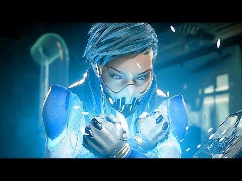 Mortal Kombat 11 - FROST All Intro Dialogues Character Banter Interaction (MK11)