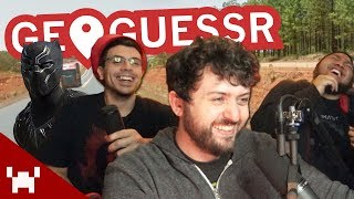 LOOKING FOR WAKANDA | GeoGuessr w/ Ze, Chilled, & GaLm IN PERSON