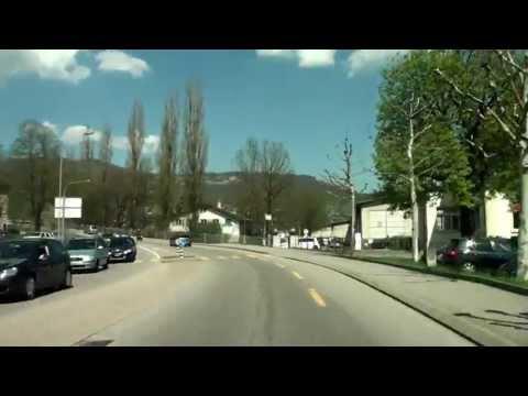 From La Chaux-de-Fonds to Stein-Säckingen / Switzerland/ 04.2013/ HD