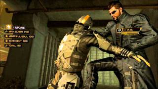 Deus Ex: Human Revolution - Any time fly girl.