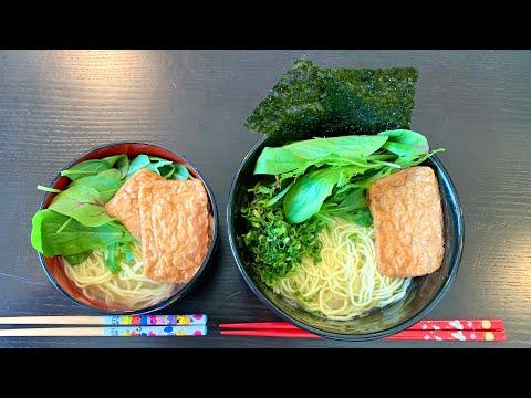 recette-au-japon-râmen-facile-:-nouilles-fraîches-bouillon-dashi-konbu-topping-inari-nori-végétarien