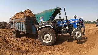 Sonalika Di-745 III tractor best performance in load
