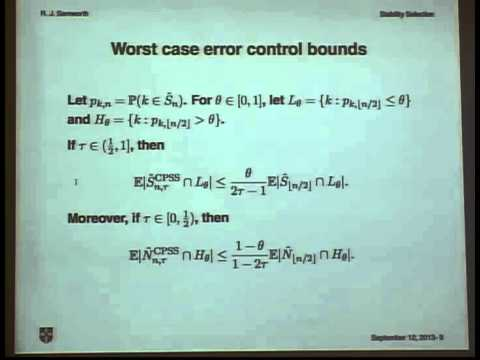 Variable Selection with Error Control: Another Look at Stability Selection