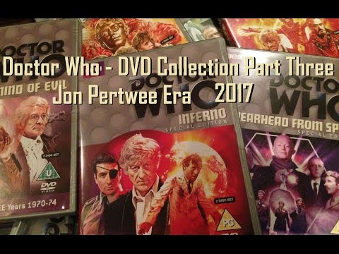 Doctor Who DVD Collection 2017 Review/Overview - Part Three - Jon Pertwee - Third Doctor