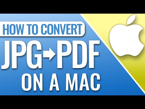 How To Convert A JPG To PDF On Mac