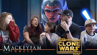 Star Wars: The Clone Wars | Official Trailer | Disney+- REACTION and REVIEW!!!