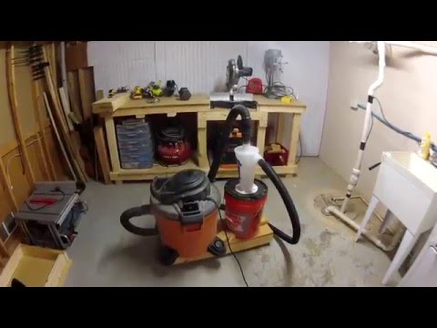 Quick and Easy DIY Dust Collection - Dust Deputy