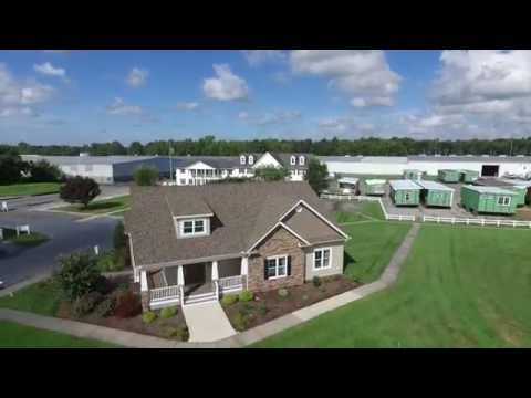 Beracah Homes - Flyby and Flyover to Delmarva RR Tracks