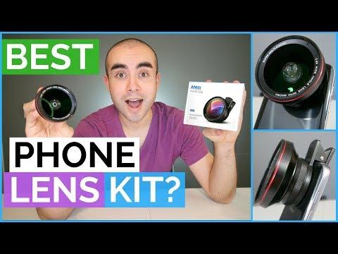 Best Smartphone Lens Kit? - Amir 2 in 1 Lens Review