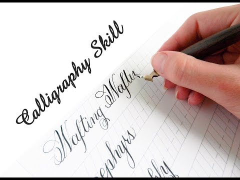 Calligraphy For Beginners With Fountain Pen