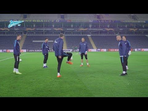 «Зенит-ТВ»: открытая тренировка на стадионе «Шюкрю Сараджоглу»