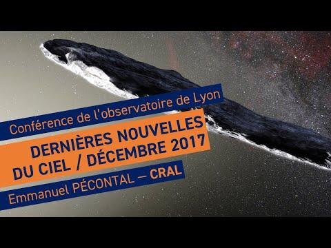 """""""Revue de presse astronomique"""", conférence de Emmanuel Pecontal - Observatoire de Lyon"""