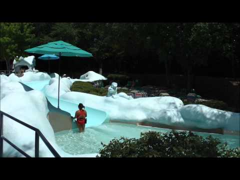 Tike's Peak, Blizzard Beach, Walt Disney World HD (1080p)