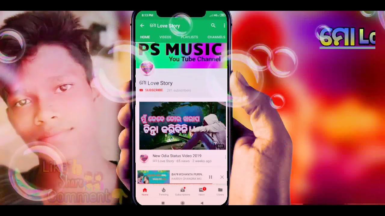 New Odia Bhajan WhatsApp Status Video 2019 #ମୋLoveStory ...