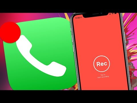 Как Записывать Звонки На IPhone | Запись Телефонных Разговоров IOS