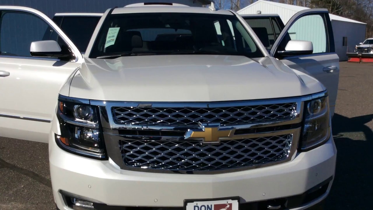 2017 Chevrolet Tahoe Iridescent Pearl Lt 4wd H17143