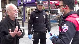 Maaşını çekmek için evden çıkınca polise yakalandı, Param kalmadı dedi