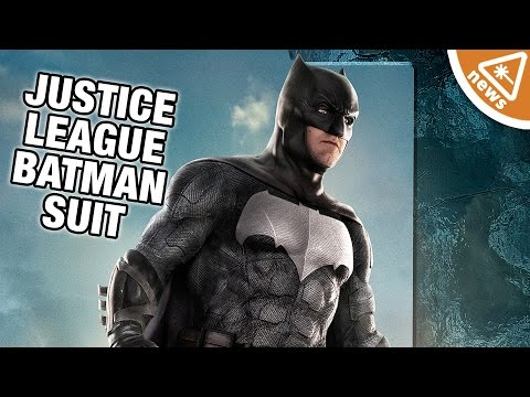 Another New Batman Justice League Suit Revealed! (Nerdist News w/ Jessica Chobot)