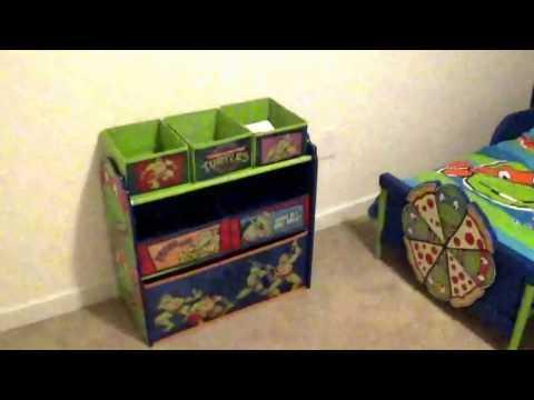 Vlogmas Day 25 Ninja Turtle Room Reveal