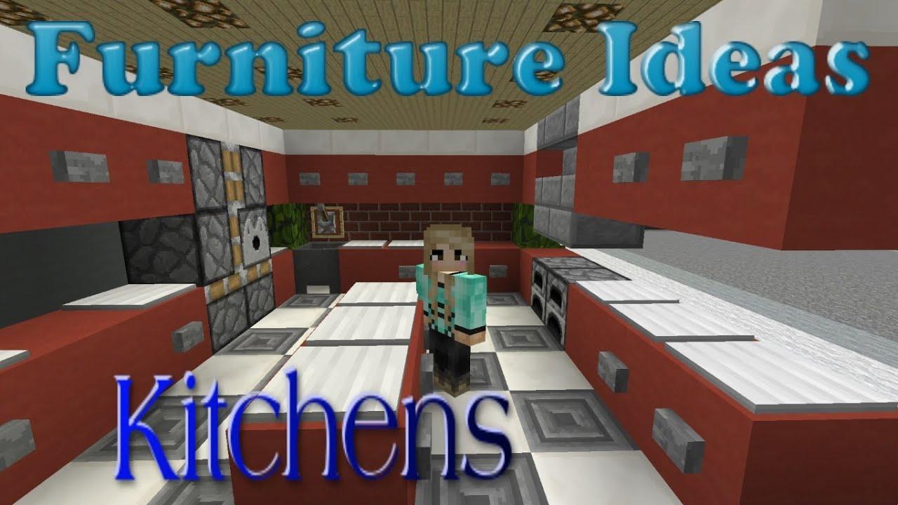 Minecraft Furniture Ideas: #4 Kiwi Designs for Kitchen ...