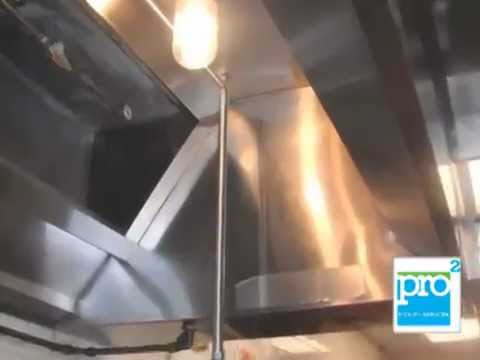 Restaurant Hood Cleaning Exhaust Vent