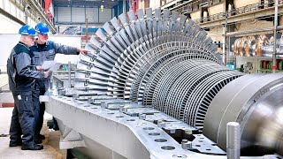 Amazing Technology Biggest Axial Compressors And Gears Manufacturing Process
