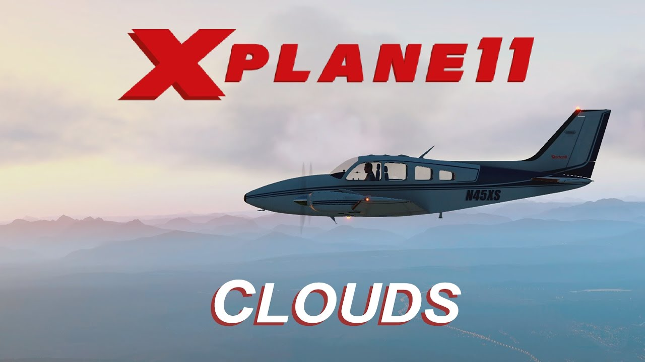 X-Plane 11 - Updated Default Clouds - YouTube