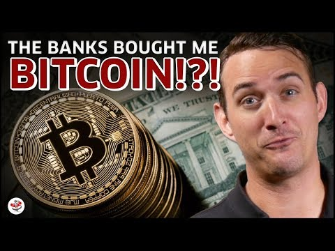 MY BANK BOUGHT ME BITCOIN?! (How To Get The Banks To Buy You Cryptocurrency)