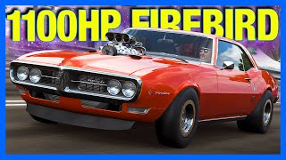 Forza Horizon 4 : The 1100 Horsepower Firebird!! (FH4 Pontiac Firebird)