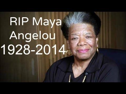 Maya Angelou Dies at 86 5/28/14