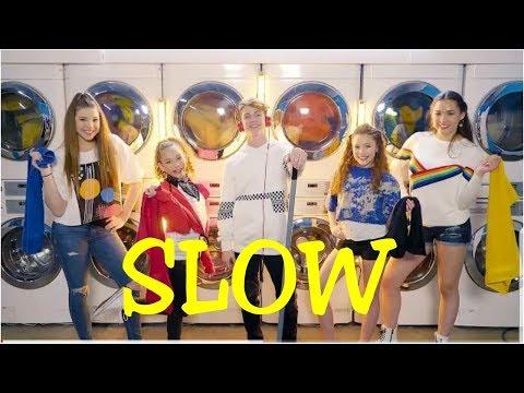 MattyBRaps - Little Bit (feat. Haschak Sisters) | SLOW