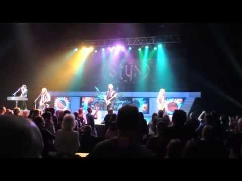 Styx - Tommy Shaw - Blue Collar Man 2/13/2015 Muncie, Indiana