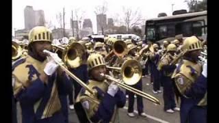 Mardi Gras 2011 St Augustine Marching Band Treme Kermit R. New Orleans ZULU The Audubon ZOO