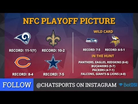 NFL Playoff Picture: Clinching Scenarios And Standings For The NFC And AFC Entering Week 14