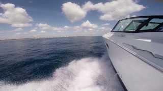 Cruisers Yachts 328 SS ride along