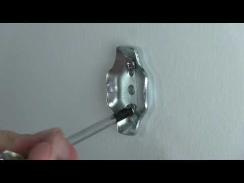 Bathroom Hardware Towel Ring Installation