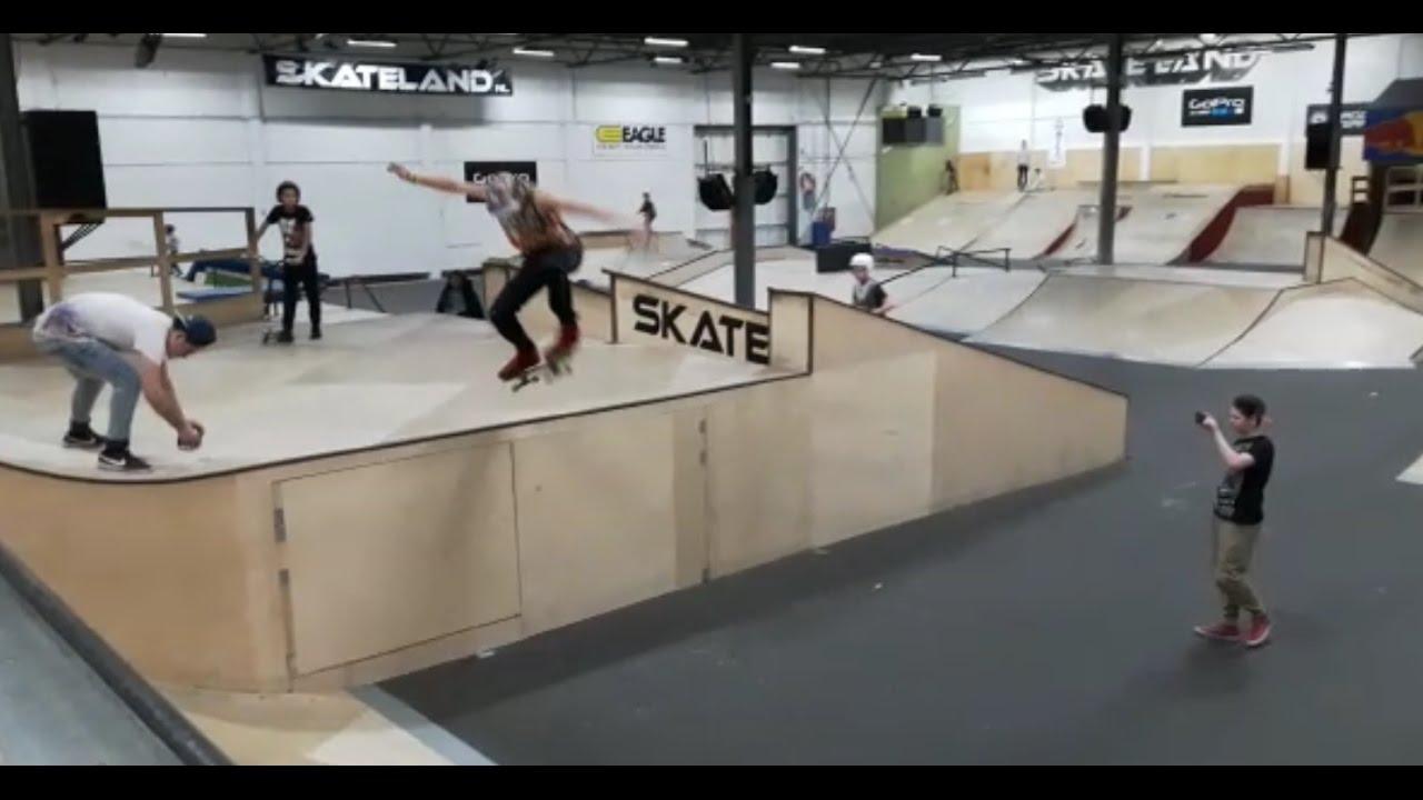 ca7afcda974 Skateland Rotterdam (Rollerdam) - YouTube