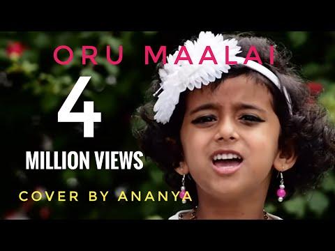 Sun Singer Ananya | Oru Maalai | Ghajini | Cover Song