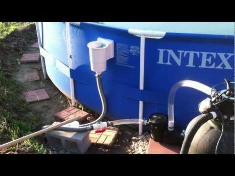 intex pool vacuum instructions