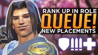 Overwatch: How to Rank Up in Role Queue - NEW Placements Explained!