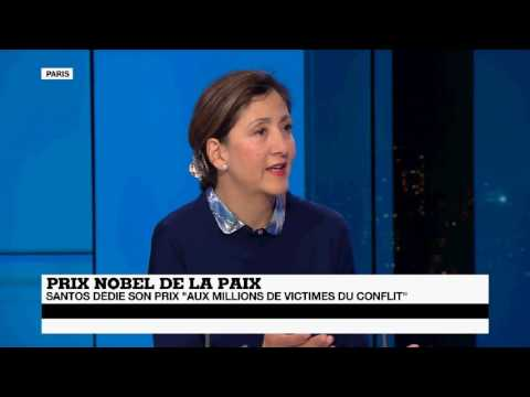 Interview Ingrid Betancourt sur France 24 07/10/16
