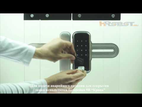 видео: Кодовый замок для стеклянных дверей с установкой без сверления samsung shs-g510/shs-g517