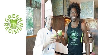 Vacation In Mexico - Prickly Pear Smoothie - Iberostar Grand Paraiso - Green Regimen