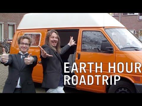 EARTH HOUR de ROADTRIP - De PVC on tour.