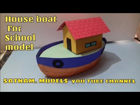 how to make model boat stand