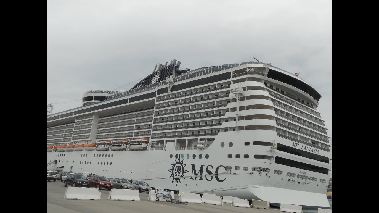 msc fantasia youtube
