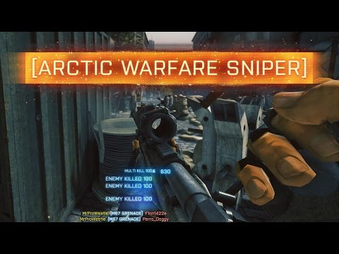 ► ARCTIC WARFARE SNIPER! - Battlefield: Through The Ages