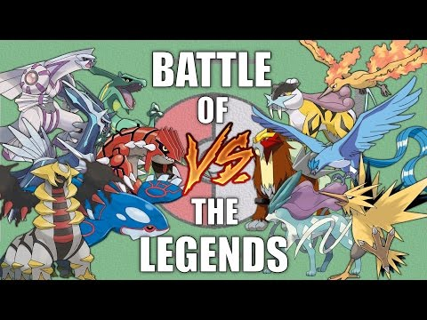 Battle of the Legends #1 - Pokemon Battle Revolution (1080p 60fps)